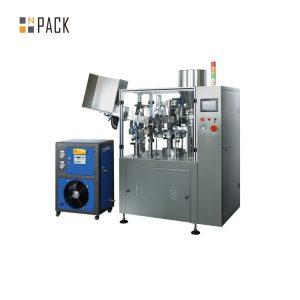 Automātiska ultraskaņas medicīnisko un farmaceitisko cauruļu pildīšanas blīvēšanas mašīna