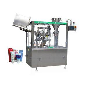 Automātiska mīkstas ādas ziedes caurules iepildīšanas un aizzīmogošanas mašīna