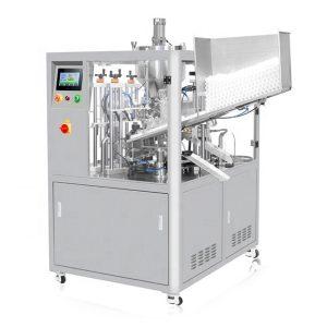 Ultraskaņas blīvēšanas kosmētikas cauruļu iepildīšanas mašīna