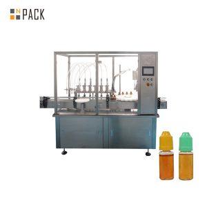 Peristaltiskā šķidruma iepildīšanas mašīna mazai flakona pudelei