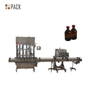 Augstas precizitātes automātiskā smēreļļas / eļļošanas eļļas iepildīšanas mašīna