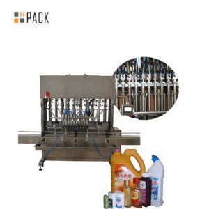 Automātiska šķidrās pudeles iepildīšanas mašīna acu pilienu pudeļu piepildīšanai