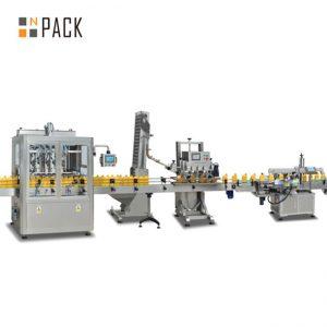 ievārījuma virzuļa pildīšanas mašīna, automātiskā karsto mērču pildīšanas mašīna, čili mērces ražošanas līnija