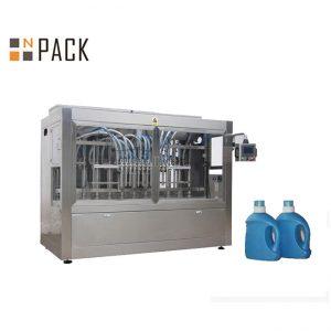 Automātiska Liquid 10 sprauslu sinepju eļļa Pudeļu iepakošanas mašīna