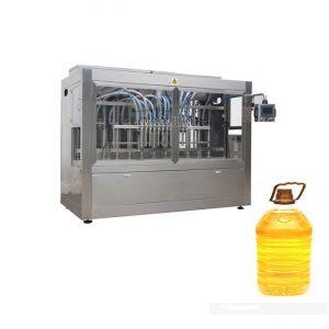 Pilnībā automātiska sinepju palmu pārtikas eļļas iepildīšanas iepakošanas mašīna
