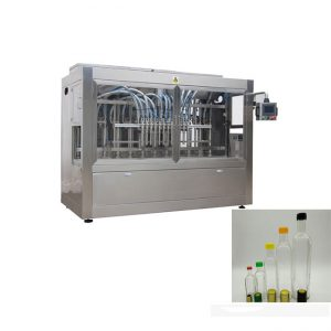 automātiskā stikla pudeles zemeņu ievārījuma mērces pildīšanas mašīna