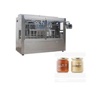 Lēta pildīšanas jar medus pudeļu pildīšanas mašīna