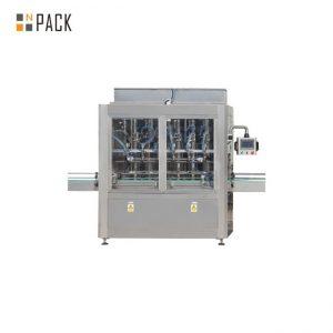 Augstas kvalitātes cepamās eļļas iepildīšanas mašīnas augu eļļas pudeļu pildīšanas aizdares mašīna