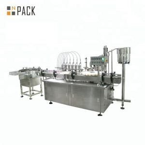 10ml 30ml 50ml apaļās stikla pudeles kosmētiskās ēteriskās eļļas pildīšanas pudeļu pildīšanas mašīna